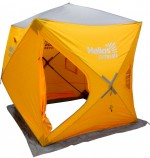 Палатка зимняя Куб EXTREME 1,8х1,8 (HW-TENT-80059-2) Helios (бур-ввертыш 8 шт. в комплекте)