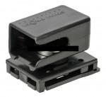 Паучер универсальный с магнитом, с изменением угла для магазинов Викинг, ПММ, Т-10 (пластик) черный