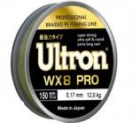 Шнур ULTRON wx8 PRO 0.21мм, 16 кг, 137 м, хаки