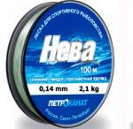 Леска Нева серебр.0,27мм,7,4кг,100м 100-27