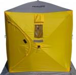 Палатка зимняя куб 1,5х1,5 (4желтый1серый) Helios