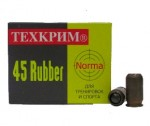 Патрон 45 Rubber NORMA травм.действия Техкрим