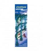 Поводок Cottus  72 шт 25см, 25см, 15см зеленый осн 6500221