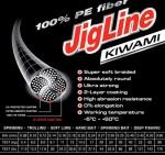 Шнур JigLine Kiwami 0.24 мм, 17 кг, 125 м, зелен П162024