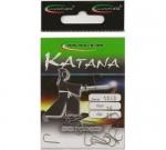 Крючки Katana двойник цвет Hi-Bronze Три рыбы №4,  6,   8