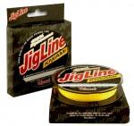 Шнур JigLine Kiwami 0.27 мм, 20 кг, 125 м, желтый