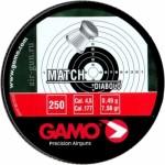 Пуля пневм GAMO Match, кал 4,5 мм (250 шт)