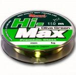 Леска Hi-Max Olive Green 0.20 мм, 4,5 кг, 150 м