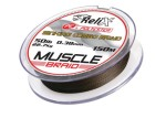 Леска плетеная RELIX MUSCLE BRAID150м/0,26мм 13,60кг черный 907-0006