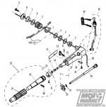 № 30 Выключатель остановки двигателя в сборе F4-01090400